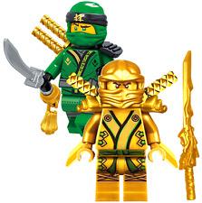 NINJAGO MINIFIGURES SETS NINJA GOLDEN GREEN LLOYD GARMADON LEGO MASTERS minifig
