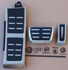 Audi A8 4H D4 original S8 Pedalset Pedale Pedalkappen Fußstütze 4H1064205A neu
