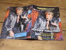 JOHNNY HALLYDAY - FLASHBACK TOUR - RARE OBJET COLLECTOR !!! !!!!!