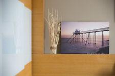 Malibu Beach Sunset Scene Canvas LED Painting Home Office Wall Decoration