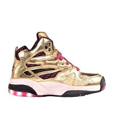 Worn Once! LA Gear 1992 Pink & Gold LA Lights Light Up Basketball Sneakers Sz.10