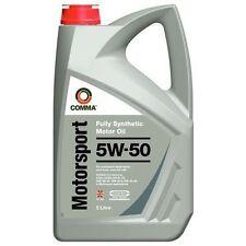 Motoröl COMMA Motorsport 5W50, 5 Liter