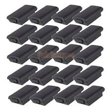 20X New Battery Pack Cover Case Shell for Xbox 360 Xbox360 Game Controller Black