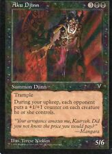 MTG Magic - Visions - Aku Djinn -  Rare VO
