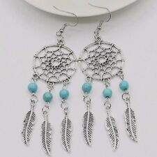 Gorgeous Dreamcatcher Sterling Silver Earrings