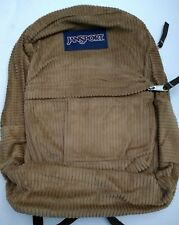 Jansport Backpack Corduroy Brown High Stakes Carmel TRS7-3Q7
