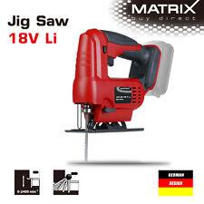 NEW MATRIX 20v (18v) Cordless Jig Saw Jigsaw (saw only, no battery)