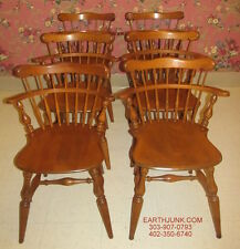 Ethan Allen Arrowback Heirloom Maple Dining Room Chairs Set of 4 ...