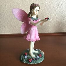 """The Fairy Collection by Dezine The Lady Bug Fairy"""" Figurine #5856"""
