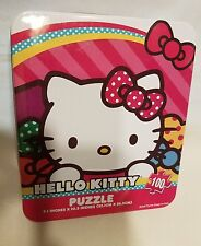 Hello Kitty 100 Piece Jigsaw Puzzle with Collectors Tin (NIB)