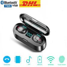 Touch Control Kopfhörer Bluetooth TWS In-Ear Buds 5.0 Ohrhörer Wireless Headset