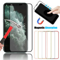 For iPhone 11 Pro Max/11/XR/XS Max/X Full Cover Tempered Glass Screen Protector