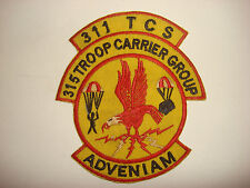 US 311th Troop Carrier Squadron 315th Troop Carrier Group, Vietnam War Patch