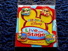 Disney * PLAYHOUSE DISNEY * New MIP 4 pin BOOSTER Set