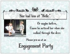 20 Wedding ENGAGEMENT Party INVITATIONS Cards POSTCARDS
