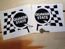 Quaker State Old Style Autocollant IMSA NASCAR DAYTONA etc..