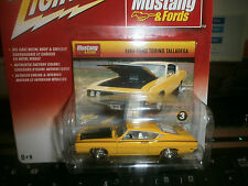 1969 FORD TORINO TALLADEGA MUSTANGS & FORDS JOHNNY LIGHTNING 1/64 JL HH T9 +