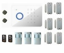 Quad-Band Touch Keypad GSM SMS RFID Wireless Home Alarm System Auto Dial G5