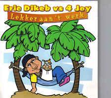 Erik Dikeb-Lekker Aan Het Werk cd single