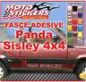 Adhesivos coche - Bandas adhesivo para Panda 4x4 Sisley