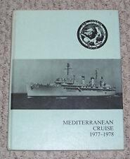 1977 1978 Mediterranean cruise book USS YOSEMITE AD-19