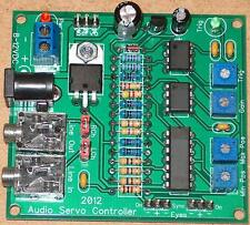 Audio Servo Controller Board - Audio Servo Driver - Talking Skull - Animatronics