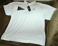 Notre Dame Fighting Irish Under Armour  Heat Gear polo shirt 4XL NWT 1973 patch
