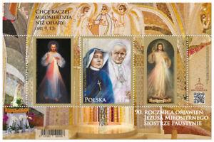 POLEN 2021 Block 90th Anniversary of Merciful Jesus Revelations to Sister Fausti