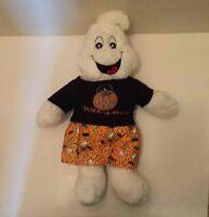 7a8f97fe Build A Bear Halloween Ghost w/ Trick Or Treat Shirt & Shorts Plush Stuffed  Toy