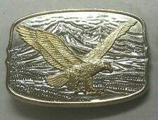 International Monetary Mint Soaring Eagle Belt Buckle, NEW, Serial Number 21528