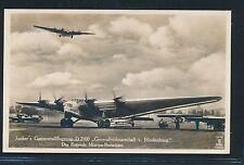 02309) DR Dessau, Foto-AK Junkers D-2500 Generalfeldmarschall v.Hindenburg