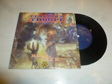 "CLAYTOWN TROUPE - Real Life - 1989 UK 2-track 7"" vinyl single"