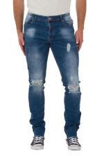 Jeans da uomo Skinny, slim Blu Taglia 48
