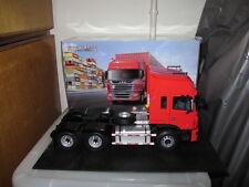 JAC Gallop semi-trailer tractor red 1/24 model