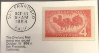 1958 Four Cent Stamp Overland Mall GMA GEM MT 10