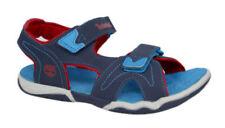 Scarpe blu marca Timberland per bambini dai 2 ai 16 anni chiusura a strappo