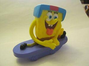 McDonalds Meal Sponge Bob Square Pants Spring Pull Back Toy dated 2012  (008)