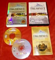Final Fantasy XI 11 Online Vana'Diel Collection (PC, 2007) complete *TESTED*