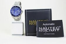 Nautec No Limit Deep Sea Automatic Herrenarmbanduhr