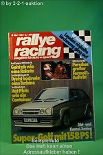 Rallye Racing 5/84 Peugeot 205 Turbo 16 Abt Golf BMW