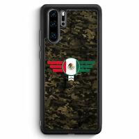 Mexico Mexiko Camouflage Huawei P30 Pro Silikon Hülle Motiv Design Militär Mi...