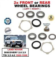 FOR LANDROVER DISCOVERY 2.0 2.5 TDi 3.5 4.0 1989-98 FRONT or REAR WHEEL BEARINGS