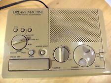 Original Vintage 1990 Sony Dream Machine ICF-2CW AM/FM Digital Clock Radio VGC!!