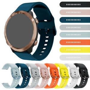 For Garmin Forerunner 645 20mm Silicone Sport Wrist Band Strap Quick Release