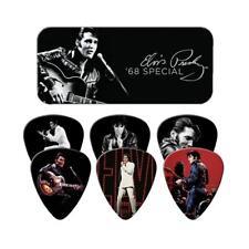 ELVIS PRESLEY Guitar Picks 6 Pack Tin Box '68 Special OFFICIAL MERCHANDISE