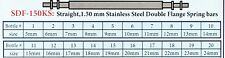 WATCH  BAND SPRING BAR / PIN KIT 1.50MM MEDIUM THICK 200 PCS Stainless Steel