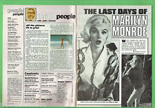 #T68.  PEOPLE MAGAZINE 16th Sept. 1981,  MARILYN  MONROE ARTICLE