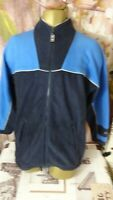 PACO ACTIVE MENS FLEECE SPORTS ACTIVE WARM ZIPPED  JUMPER SIZE M/L DI