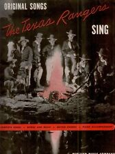 Original Songs of The Teas Rangers - 1946