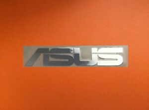 1 pcs ASUS Skylake Silver Chrome Color Sticker Logo Decal Badge 45mm x 8mm